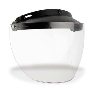 Bell Custom 500 Flip-Up Visor Shield Clear [Previously Installed]