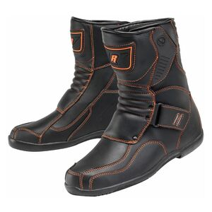 Joe Rocket Mercury Boots Black/Orange / 7 [Open Box]
