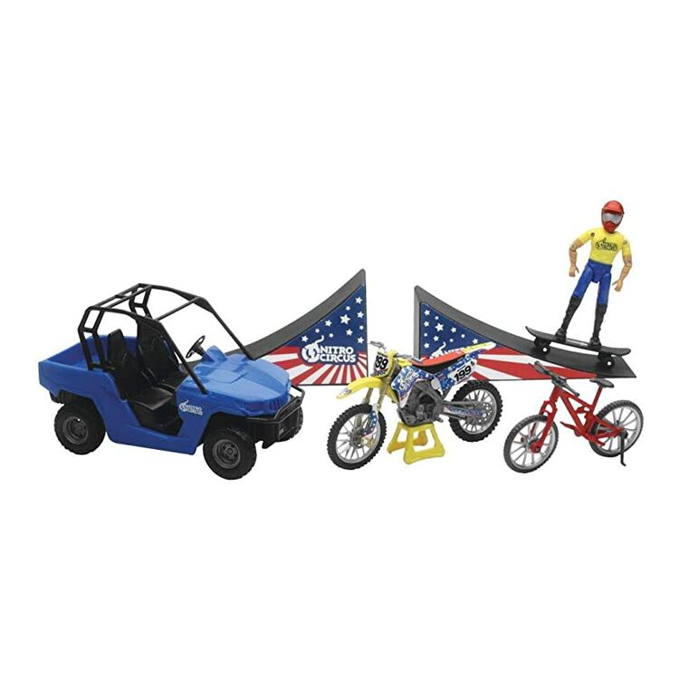 New Ray Toys Nitro Circus Playset 1:18 Model
