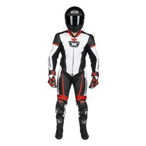 Cortech Apex V1 Race Suit Red/White / MD [Blemished - Very Good]