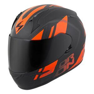 Scorpion EXO-R320 Endeavor Helmet Black/Orange / XS [Open Box]