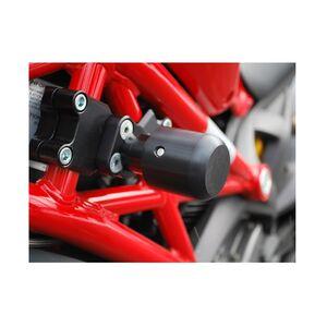 Woodcraft Frame Slider Base Ducati Monster 696 / 796 / 1100 Standard / No Pucks [Previously Installed]