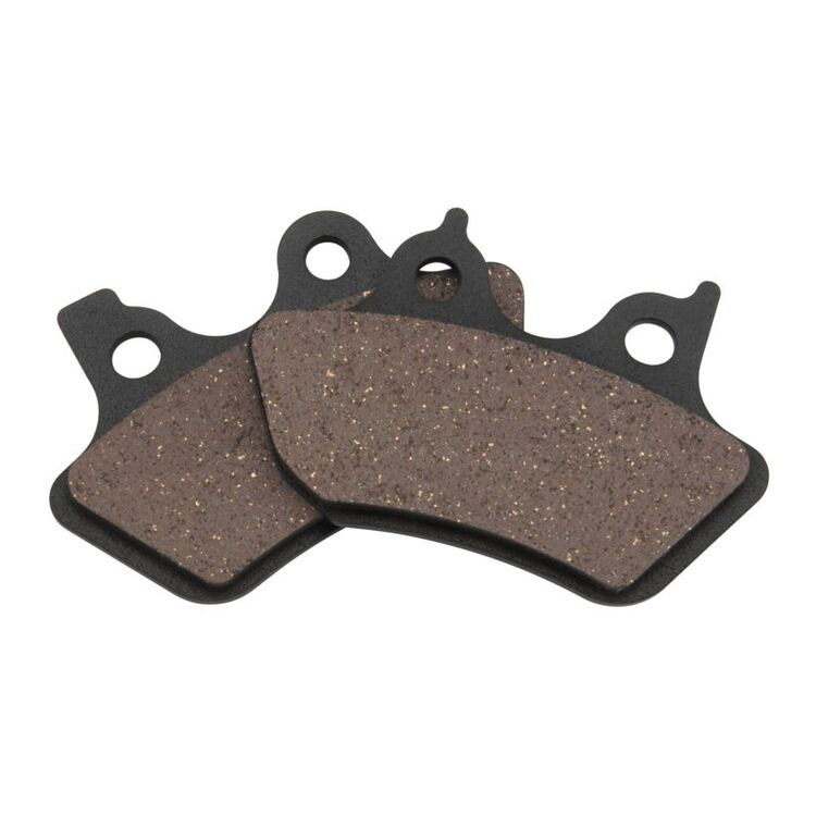 Twin Power Organic Front / Rear Brake Pads For Harley 2000-2007