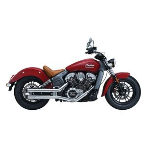 Crusher Maverick Mufflers For Indian Scout 2015-2020 Chrome [Previously Installed]