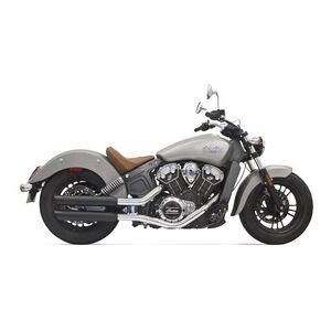 """Bassani 3"""" Slip-On Mufflers For Indian Scout 2017-2020"""
