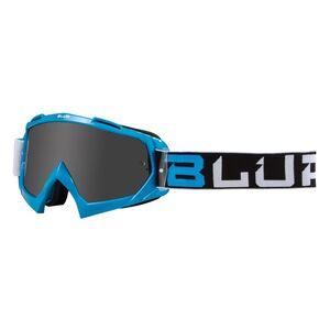 Blur B-10 Two Face Goggles Blue/Black/White / Smoke [Open Box]