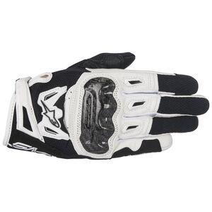 Alpinestars Stella SMX-2 Air Carbon v2 Gloves Black/White / LG [Blemished - Very Good]