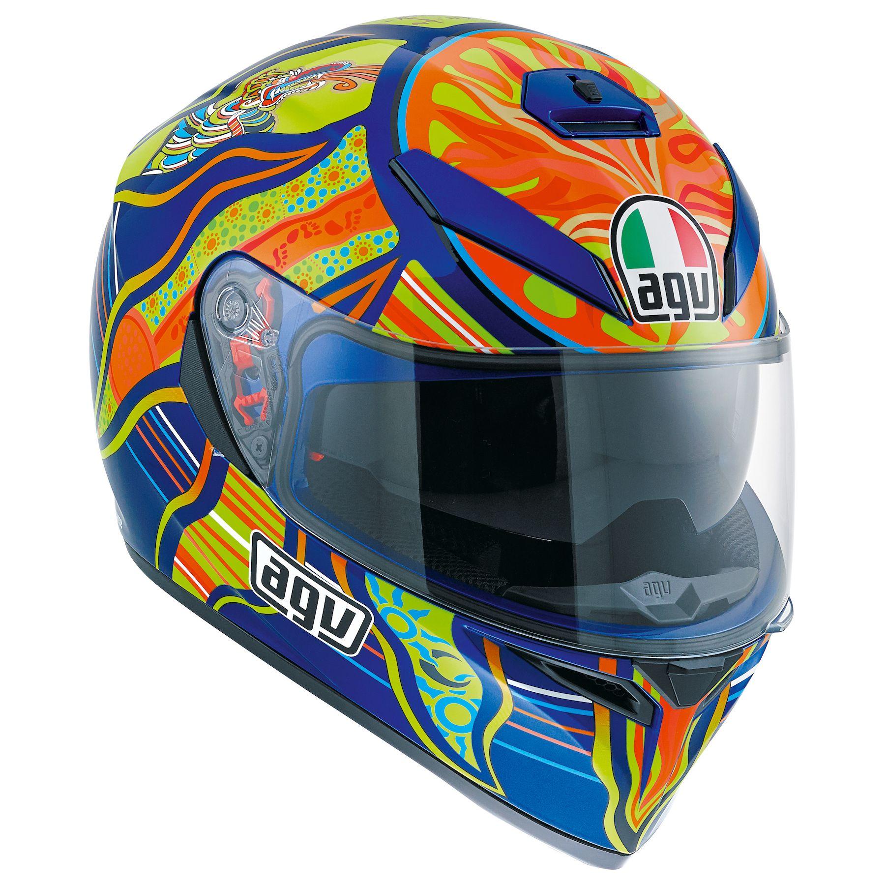 Agv K3 Sv Five Continents Helmet Revzilla