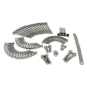 Feuling 12 Point External Engine Hardware Kit For Harley