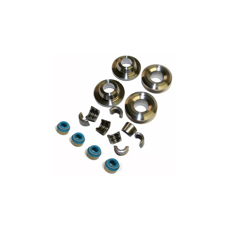 Feuling Titanium Valve Spring Retainer Kit For Harley Twin Cam / Sportster 2004-2021