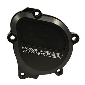 Woodcraft Starter Idle Gear Cover Suzuki GSXR 600 / GSXR 750 / GSXR 1000 Black [Open Box]