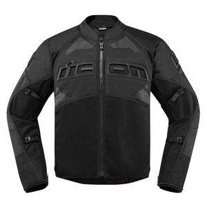 Icon Contra 2 Jacket Stealth Black / XL [Blemished - Very Good]