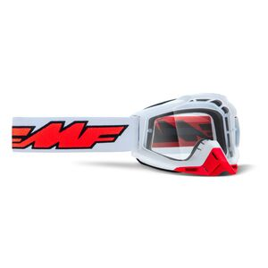 FMF PowerBomb Clear Lens Goggles