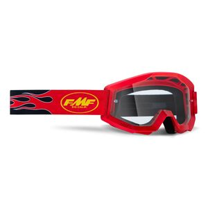 FMF Youth PowerCore Clear Lens Goggles