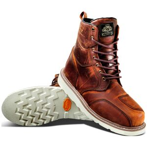 Roland Sands Mojave Boots Tobacco / 8.5 [Demo - Good]