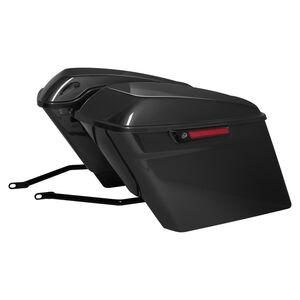 HogWorkz Stretched Saddlebag Conversion Kit W/ Brackets For Harley Softail