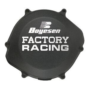 Boyesen Factory Racing Spectra Clutch Cover Yamaha YZ125 2005-2021 Black [Open Box]