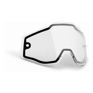 FMF PowerBomb/PowerCore Replacement Dual Pane Goggle Lens