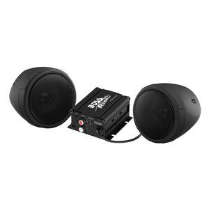 Boss Audio Rebel 600 Watt 2 Speaker Bluetooth Sound System Black [Open Box]