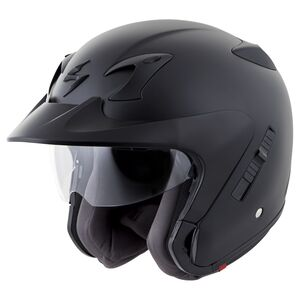 Scorpion EXO-CT220 Helmet - Solid Matte Black / 3XL [Blemished - Very Good]