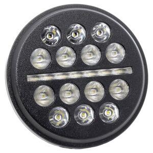"""Letric Lighting Co. 5.75"""" LED Buck-Shot Mini-Multi Headlamp For Harley 1988-2021"""