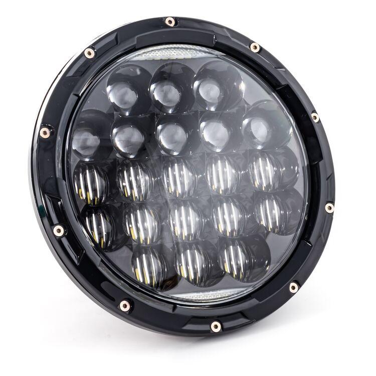"Letric Lighting Co. 7"" LED Aggressive Style Multi-Mini Headlamp For Indian 2014-2021"