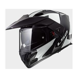 LS2 Metro V3 Sub Helmet (XL) White/Black / XL [Blemished - Very Good]