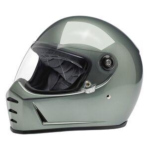 Biltwell Lane Splitter Helmet - Closeout Metallic Olive / LG [Open Box]