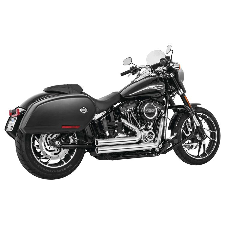 Freedom Performance Independence Shorty Exhaust For Harley Softail 2018-2021