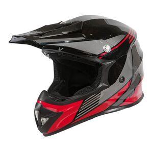 BILT Youth Amped Evo Helmet Black/Red / Youth MD [Demo - Good]