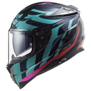 LS2 Challenger GT Carbon Flames Helmet