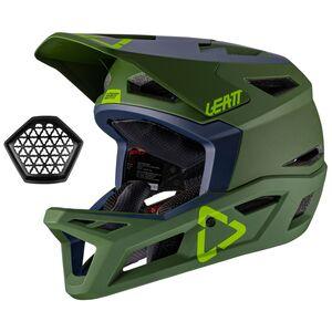 Leatt DBX 4.0 MTB Helmet Cactus/Navy / LG [Open Box]