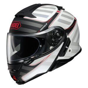 Shoei Neotec 2 Splicer Helmet Matte Black/White/Red / MD [Blemished - Very Good]
