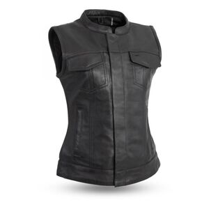 First Manufacturing Ludlow Women's Leather Vest