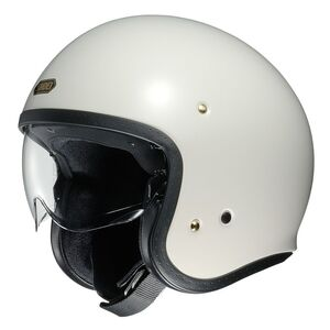 Shoei J·O Helmet - Solid Off White / SM [Blemished - Very Good]