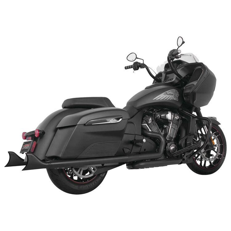 """Freedom Performance Exhaust 2.5"""" Sharktail Slip-On Mufflers For Indian Challenger 2020-2021"""