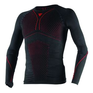 Dainese D-Core Thermo Shirt Black/Red / MD [Open Box]
