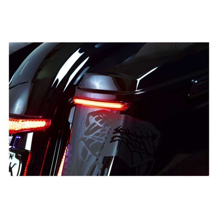 Ciro Bag Blades LED Tail Light With Sequential Turn For Harley Road King / Road Glide 2014-2021
