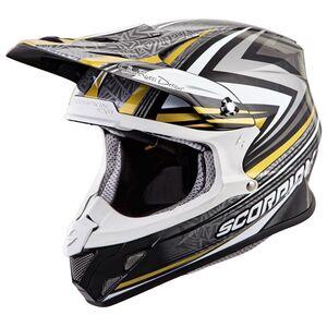 Scorpion EXO VX-R70 Barstow Helmet Gold / MD [Open Box]