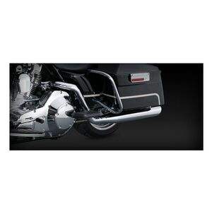 Vance & Hines Dresser Duals Headers For Harley Touring 1995-2008 Chrome / Header Only [Open Box]