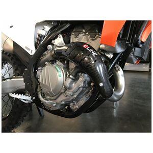 E-Line Carbon Fiber Heat Shield Sherco 250cc-300cc 2021