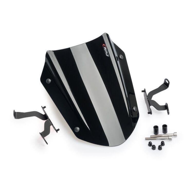 Dark Smoke 6788F 11-13 Ducati Diavel Puig Naked New Generation Windscreen