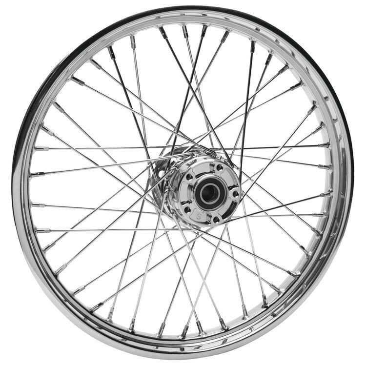 "Biker's Choice 40 Spoke 21"" X 2.15"" Front Wheel For Harley FX / XL 1978-1985"