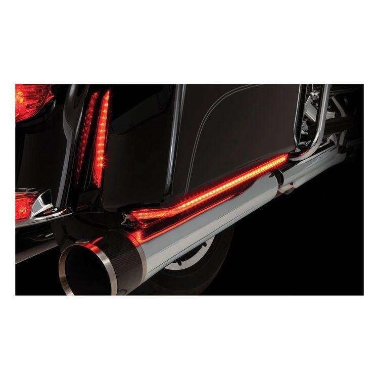 Ciro Machete Saddlebag LED Lights For Harley Touring 1997-2021