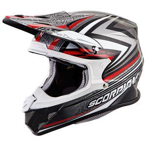 Scorpion EXO VX-R70 Barstow Helmet Red / LG [Open Box]