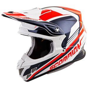 Scorpion EXO VX-R70 Ascend Helmet Neon Red/Blue / XS [Open Box]