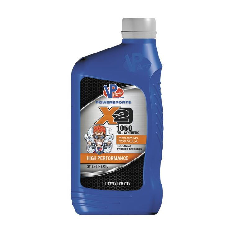 VP Racing X2 1050 Full-Synthetic Two-Stroke Premix Oil