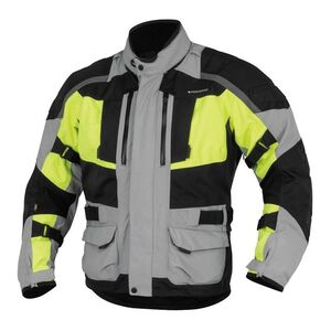 Firstgear Kathmandu Jacket Grey/DayGlo / LG [Blemished - Very Good] Grey/DayGlo / LG [Blemished - Very Good]