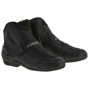 Alpinestars SMX-1 R Boots Black / 42 [Blemished - Very Good]