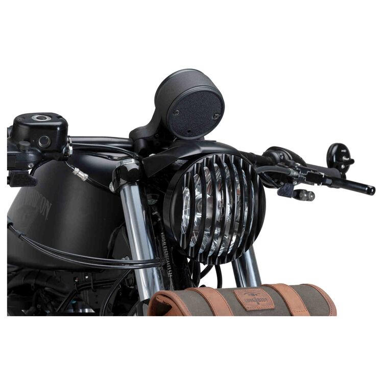 CustomAcces Headlight Protector Max For Harley Sportster